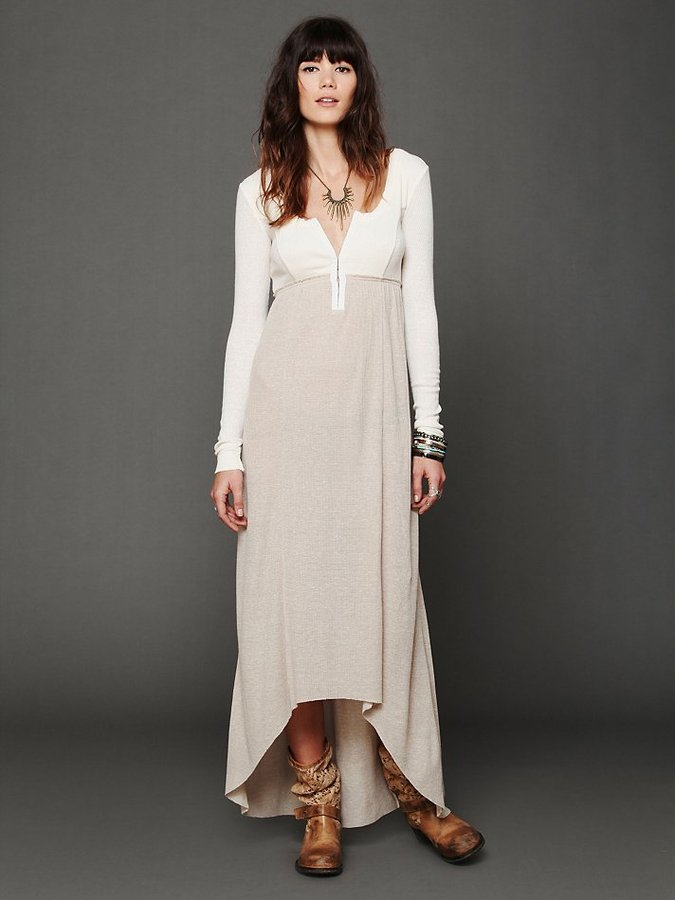 Free People Got You Hooked Maxi