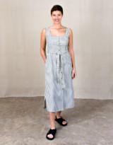 Indi & Cold - Mono Stripe Tierra Strappy Dress - XS .