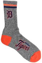 For Bare Feet Detroit Tigers Heathered Crew Socks
