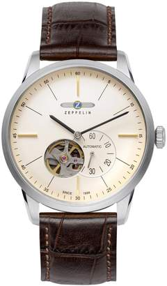 Zeppelin 7364-5-Watch with Brown Leather Strap