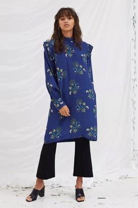 Libertine-Libertine Sky Royal Paisley Dress - XS
