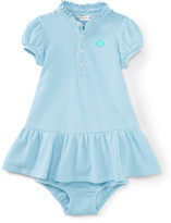 Personalization Baby Girl Dress & Bloomer