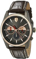 Ferrari Men's 830198 GTB - C Analog Display Quartz Brown Watch