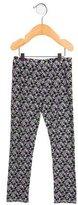 Oscar de la Renta Girls' Floral Print Stretch Knit Leggings w/ Tags