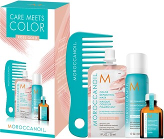 Moroccanoil Care Meets Color - Rose Gold