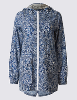 M&S Collection Pack Away Paisley Print Anorak