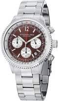 Stuhrling Original Men's Men's Monaco Japanese Chronograph Stainless Steel Watch