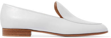 Gianvito Rossi Leather Loafers - White