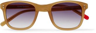 Oliver Spencer Spencer D-Frame Acetate Sunglasses