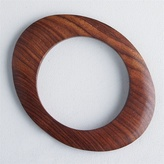 Oval Wooden Bangle