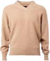 The Elder Statesman v-neck sweater