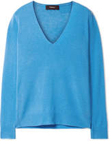 Theory Adrianna Cashmere Sweater - Azure