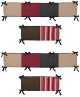 JoJo Designs Sweet Pirate Treasure Cove Collection Crib Bumper