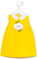 Fendi cloud print dress