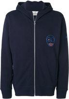 Vivienne Westwood embroidered zip up hoodie