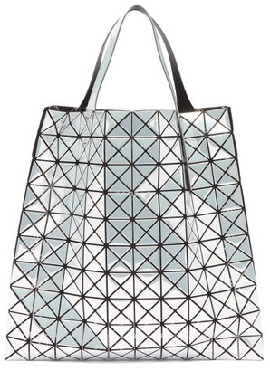 Bao Bao Issey Miyake Platinum Large Metallic Pvc Tote Bag - Womens - White