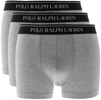 Ralph Lauren Underwear 3 Pack Boxer Shorts Grey