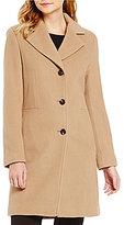 Calvin Klein Wool Cashmere Blend A-Line Coat