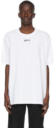 Off-White White Masked Face T-Shirt