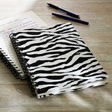 PBteen Zebra Notebook