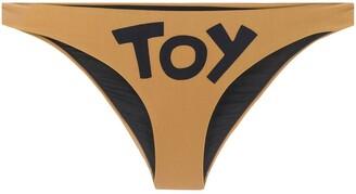 Moschino Toy print bikini bottom