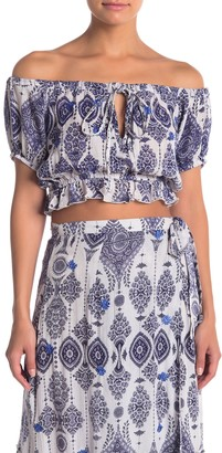 Raga Andrea Patterned Crop Top