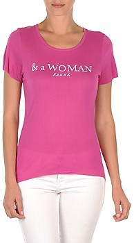 School Rag TEMMY WOMAN women's T shirt in Pink