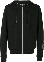 McQ by Alexander McQueen logo print hoodie - men - Cotton - S
