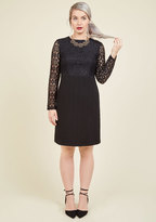 London Times Sultry-Faceted Lace Dress