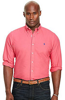 Polo Ralph Lauren Big & Tall Garment-Dyed Cotton Long-Sleeve Woven Shirt
