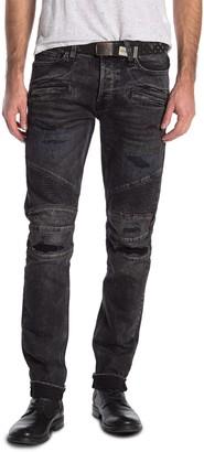 Hudson The Blinder Biker Skinny Jeans