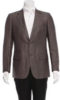 Calvin Klein Collection Notch-Lapel Two-Button Blazer