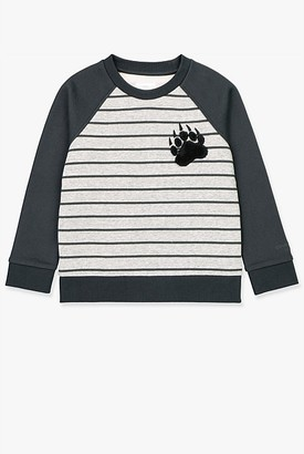 Country Road Stripe Raglan Crew Sweat