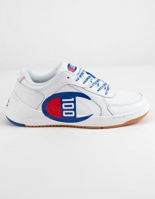 Champion Super C Court Low 100 White Boys Shoes