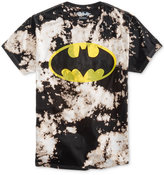 Bioworld Men's Batman Tie-Dyed Graphic-Print Cotton T-Shirt