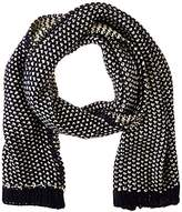 Pieces Women's Scarf - Blue -