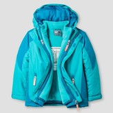 Champion Toddler Girls' 3-in-1 Jacket - Turquoise