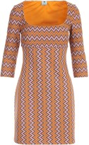 Thumbnail for your product : M Missoni Boat Neck 3/4s Pencil Dress
