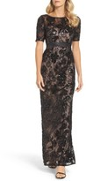 Adrianna Papell Women's Sequin Lace Gown
