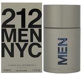 Carolina Herrera 212 By For Men. Eau De Toilette Spray 1.7 Ounces