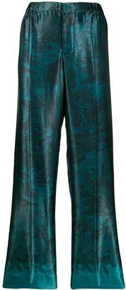 F.R.S For Restless Sleepers straight-leg patterned trousers