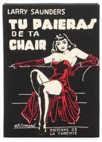 Olympia Le-Tan Tu Paieras De Ta Chair book clutch