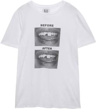 Zoe Karssen Printed Cotton-jersey T-shirt