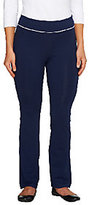 Denim & Co. As Is Active Petite Duo-Stretch Yoga Pants
