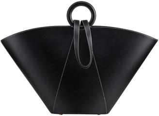 Cult Gaia Roksana Large Ring-Handle Tote Bag