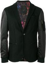 Frankie Morello bomber blazer jacket