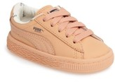 Puma Infant Girl's X Tinycottons Basket Sneaker