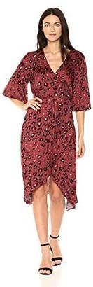 Somedays Lovin Women's Into The Wild Printed Wrap Dress