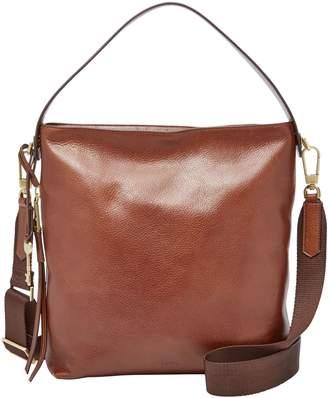 Fossil Maya Small Leather Hobo Bag