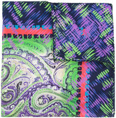 Etro patterned scarf - men - Silk - One Size
